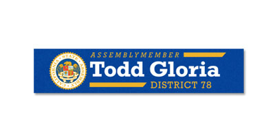Assemblymember Todd Gloria, District 78
